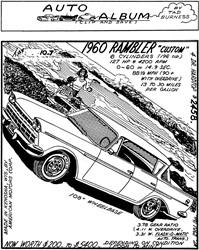 1960 Rambler Six Custom