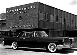 Lincoln Continentals of the 1950s