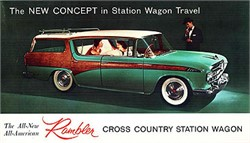 Those Famous 1956 Rambler Cross Country Wagons