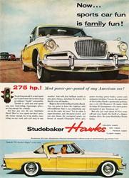 Studebaker Golden Hawk Transmission Types