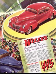 1940-1942 Willys Coupes Are Very Popular Today