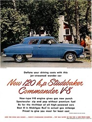 When Did The First Independent Car Manufacturer Come Out With A V8?