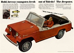Jeepster History and Fun Facts