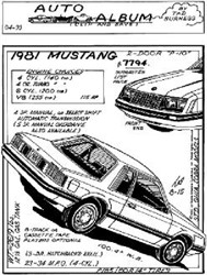 1981 Ford Mustang