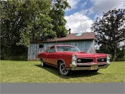 1966 Pontiac GTO Post Coupe With A 389 And A 3 Speed