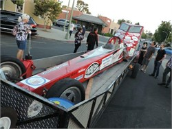 Record Breaking Bike Dragster