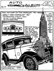 Early 1930 Chrysler 70 Boasted Many New Features