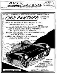 1963 Panther Sports Car