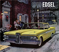 Are the Interior Parts the Same in the 1959 Ford and the 1959 Edsel?