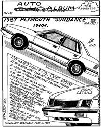 1987 Plymouth Sundance