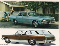 How Rare Is A 1968 Chevelle Malibu 4-door Station Wagon?