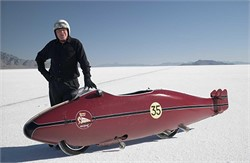 What Is The History Of The Bonneville Salt Flats?