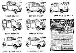 History Of The Two Passenger Crosley