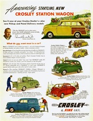 1952 Crosley Station Wagon