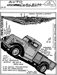 1949 1/2 Federal Utility Express Pickup