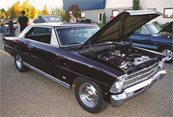 This 1967 Nova gets 27 Miles Per Gallon and does a 12.5 Second Quarter Mile