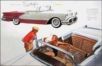 How Many Oldsmobile 98 Starfire Convertibles Were Built In 1956?