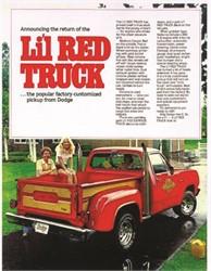 The Little Red Wagon Wheelstander Pickup