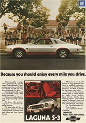 What's The Current Value Of A 1974 Chevy Malibu Laguna Type S-3?