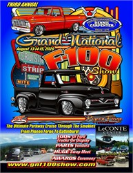 Grand National F-100 Reunion Scheduled For August 13-15