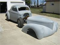 1941 Willy's rolling chassis