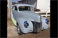 1940 Ford Deluxe Coupe Project
