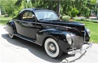 1939 Lincoln Zephyr 3 Window