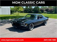 1973 Chevrolet Camaro PRO TOURING LS3 BLACK RESTO MOD WATCH VIDEO!