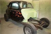 1938 Ford Standard Coupe Project