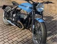 For sale is a 1983 BMW R80 nicely custom build