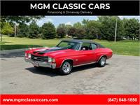 1972 Chevrolet Chevelle CRANBERRY RED BIG BLOCK 502 AC WATCH VIDEO!