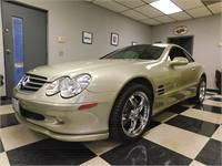 2003 Mercedes SL500 Roadster
