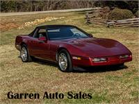 1987 Chevrolet Corvette Convertible with 35K miles