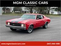 1971 Chevrolet Chevelle SS396 12B Frame off Restoration