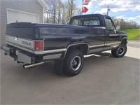 Classic truck, 1987 Silverado 1500 Long Bed