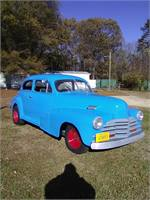 48 chevy 2 dr rod
