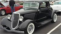 1934 FORD STEEL 5 W CPE