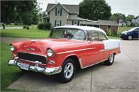 1955 Chevy 2 dr Hardtop