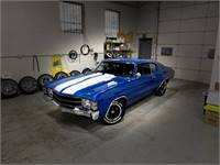 1971 CHEVELLE 454 OVERDRIVE RESTORED