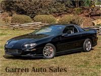 2002 Chevrolet Camaro Z28 T-Top 35th Anniversary Edition with 27,900 Miles