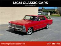 1966 Chevrolet Nova 355Cid Overdrive Cold AC