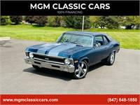 1970 Chevrolet Nova BIG BLOCK 396 - TH400 - FOOSE - NICE PAINT -