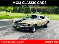 1970 Ford Mustang MACH 1 FASTBACK # MATCH MARTI REPORT