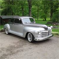 1947 Plymouth deluxe coupe