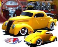 1937 Ford 3 Window