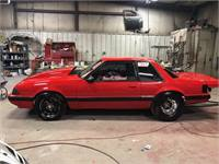 1989 Ford Mustang Drag Car