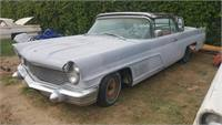 1960 lincoln continental 4/dr hdtp
