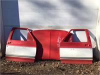 1980-1986 Ford Pick-Up or Bronco Rust Free Hood and Doors