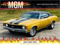 MUSCLE CAR BIG BLOCK 502 NICE PAINT TH400 12BOLT