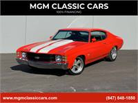"""1971 Chevrolet Chevelle 454 BIG BLOCK TH400 9"""" REAR US MAG NEW PAINT WORK!"""